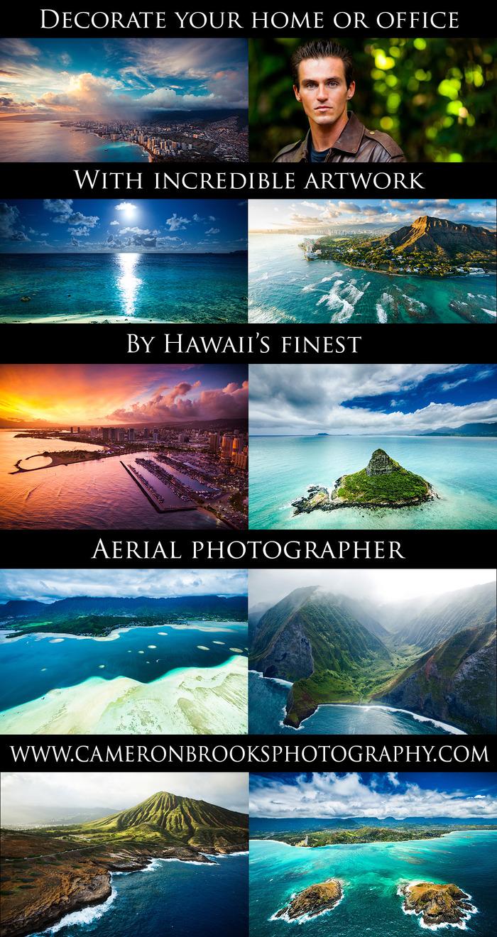 Collage of aerials