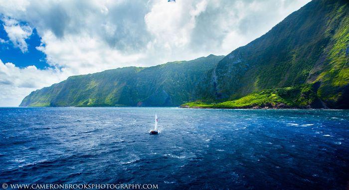 Boat race on Molokai