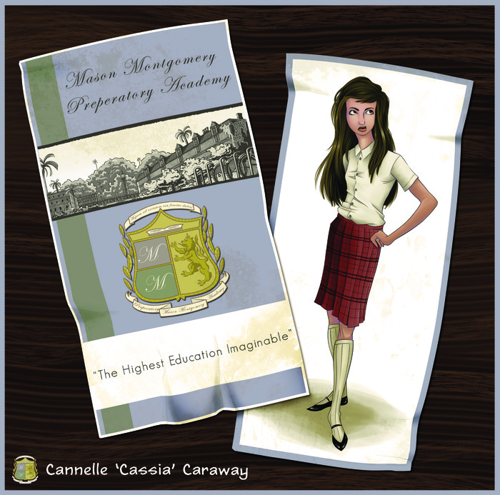 Cassia Caraway from the Mason Montgomery Prep brochure