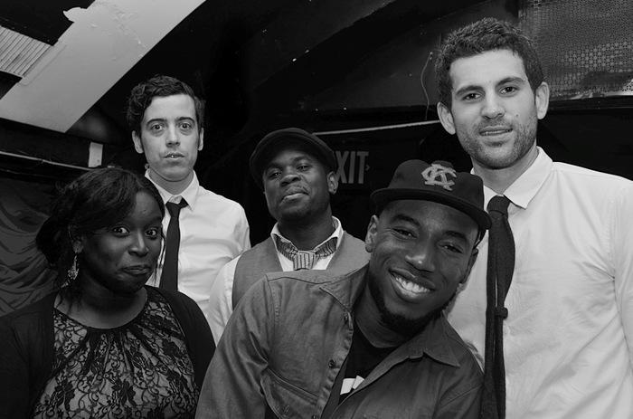 DAP & THE MOTHERFUCKERS (from left to right: Cass, Glen, Lito, DAP, & Matthew)