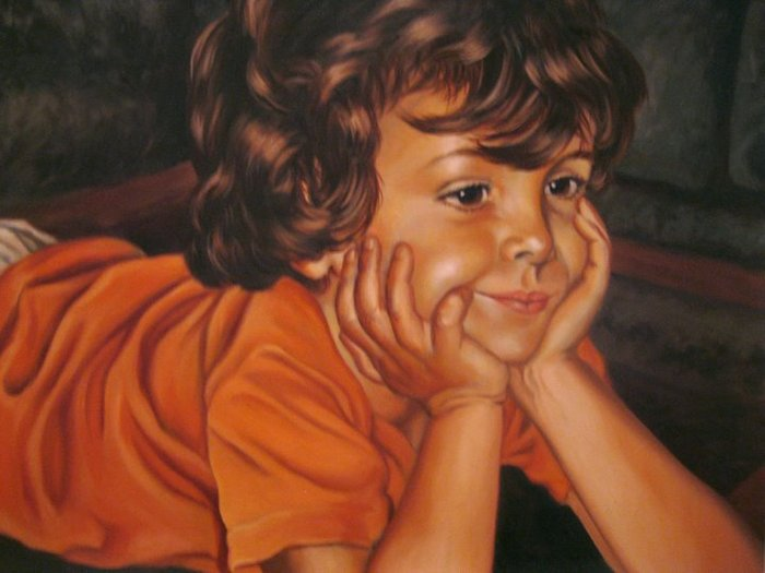 Child Portrait (Close-up)