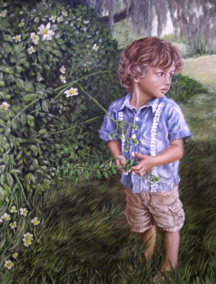 Child Portrait (Full Figure)