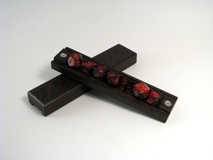 The Dice Vault in Wenge