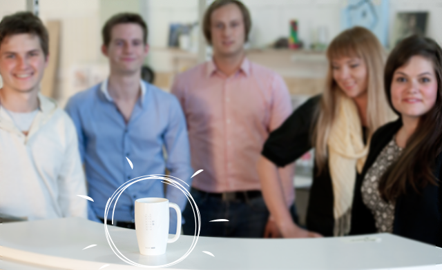 Here we are - the team behind Smart Mug project.
