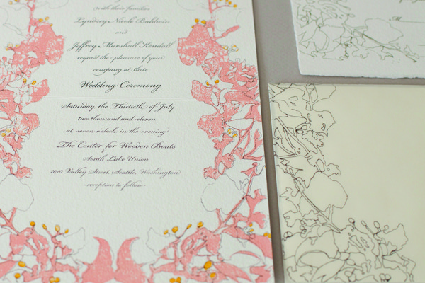 Wedding Invitation Example