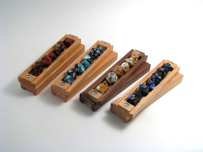 The Wyrmwood Gaming Dice Vault: A Handcrafted Wooden