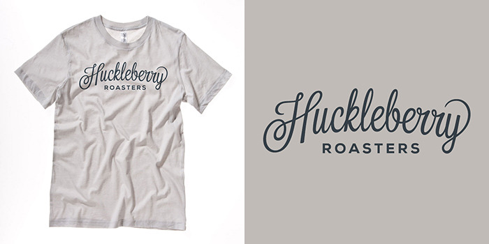 Huckleberry Roasters Logo T-Shirt