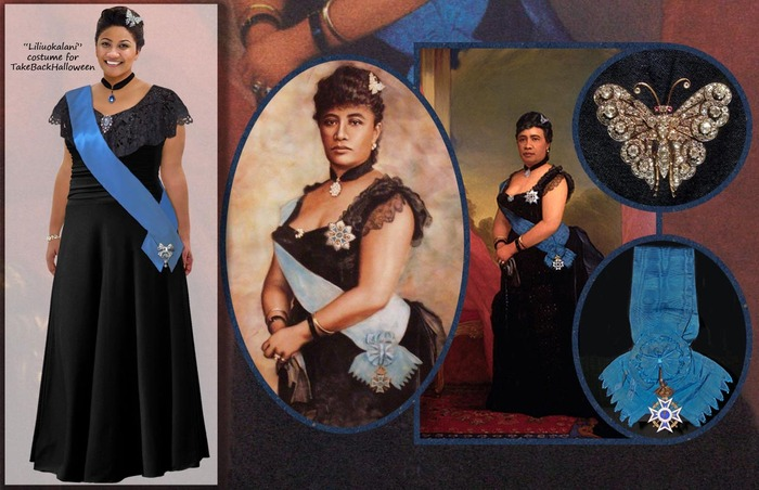Queen Liliuokalani was the last reigning monarch of the Kingdom of Hawaii.