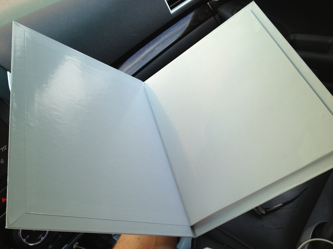 Hard Cover Mockup from Printer - Ready for Images