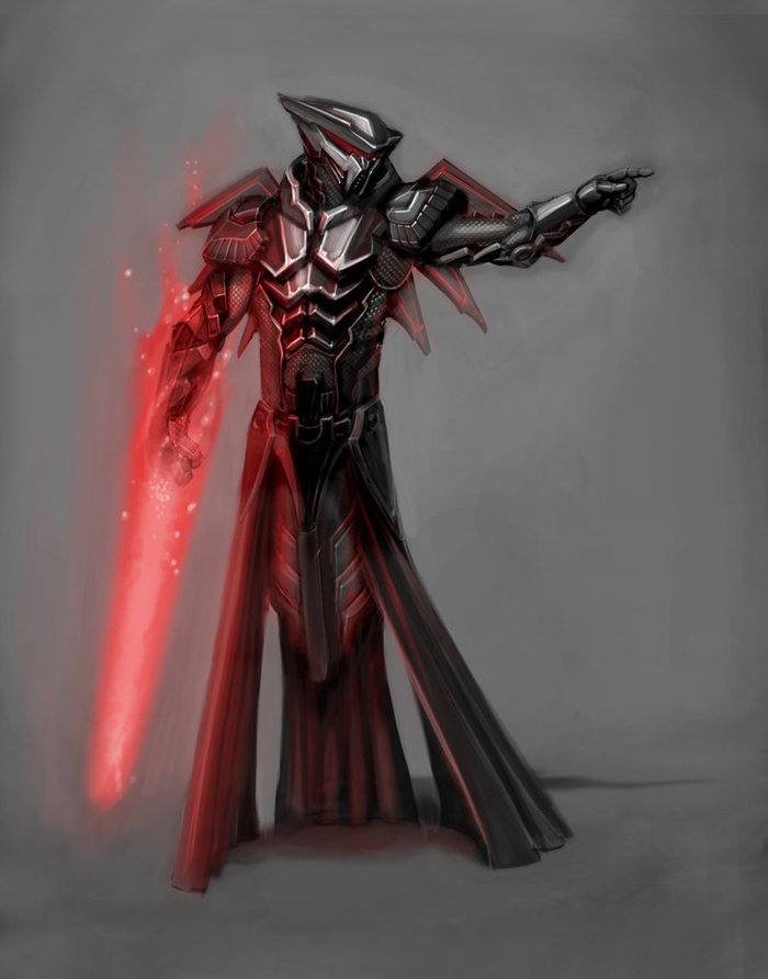 "Brandon Perlow Digital Character Piece of ""Darth Floater"""