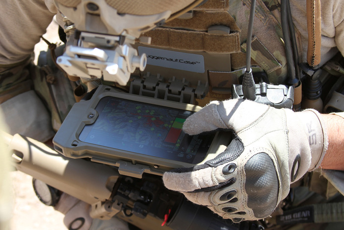 Android Juggernaut.Case™ employed by US Special Operations