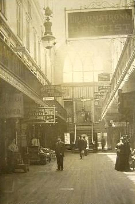 Historic View of the Paddock Arcade