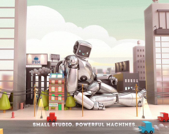 """Powerful Machines"" by Magnus Atom"