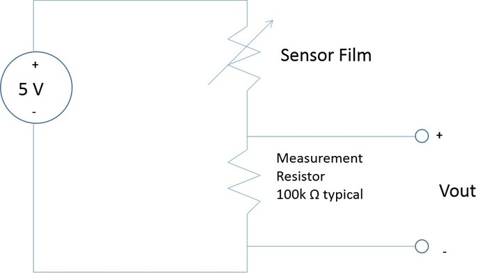 Circuit Schematic for Sensor Film
