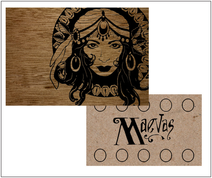 Maeva's Coffee Card Design by Edward Scott Foto