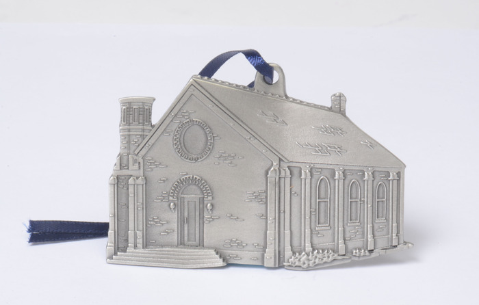 Universalist Society Church Pewter Ornament