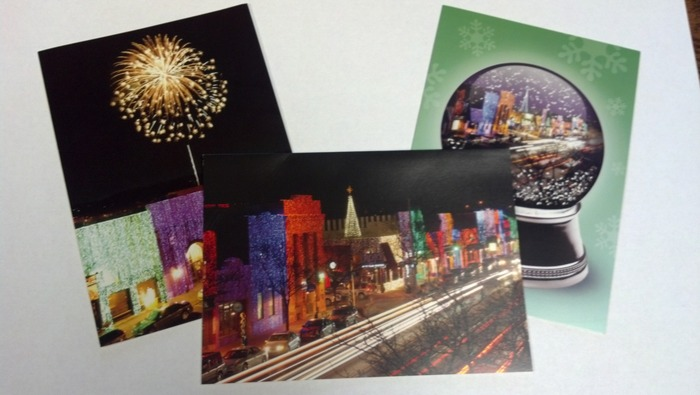 Big, Bright Light Show Christmas Cards