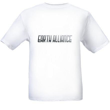 T-Shirt with Earth Alliance Logo