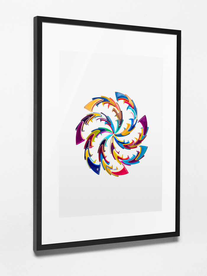 Kickstarter Exclusive Reward #2: Spiral Composition No.1