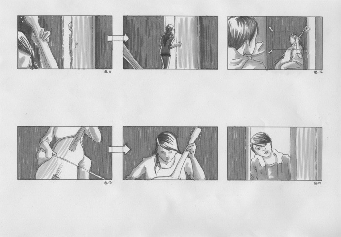 Storyboards by Marga Doek