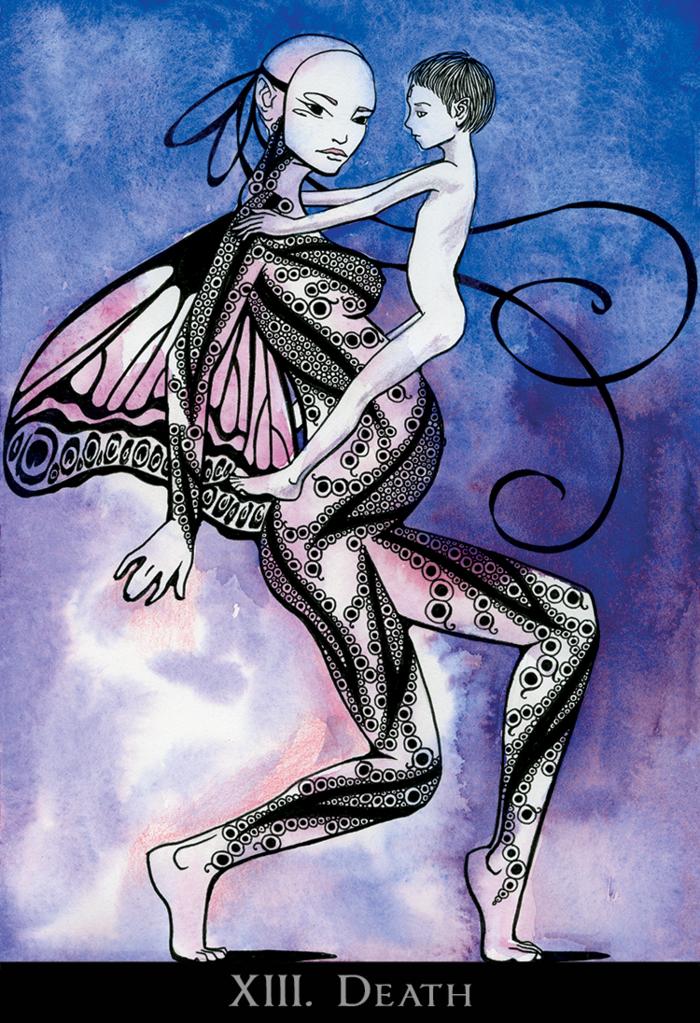 The Cheimonette Tarot By Eden Gallanter