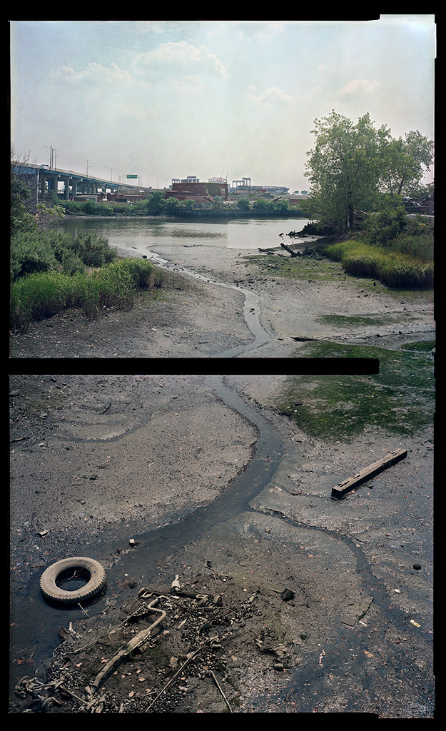 """Flushing Creek, Queens, 2008, 40"""" x 24"""" (collection of the Museum of Modern Art)"""