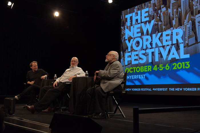 Panel discussion with Norton Juster, Jules Feiffer and Adam Gopnik
