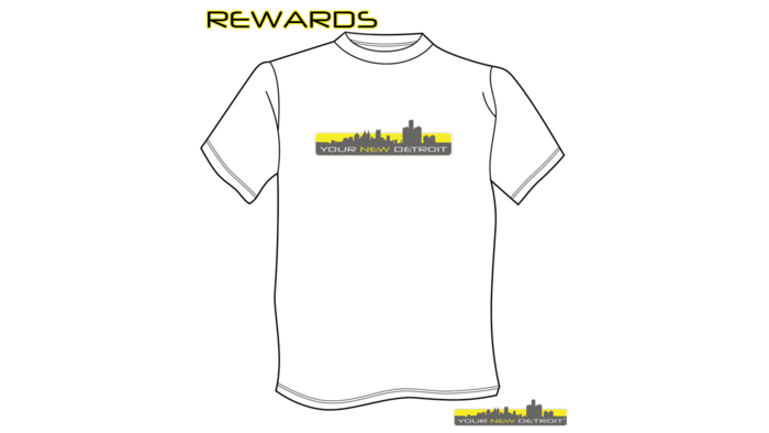 Your New Detroit - Tentative T-shirt Design