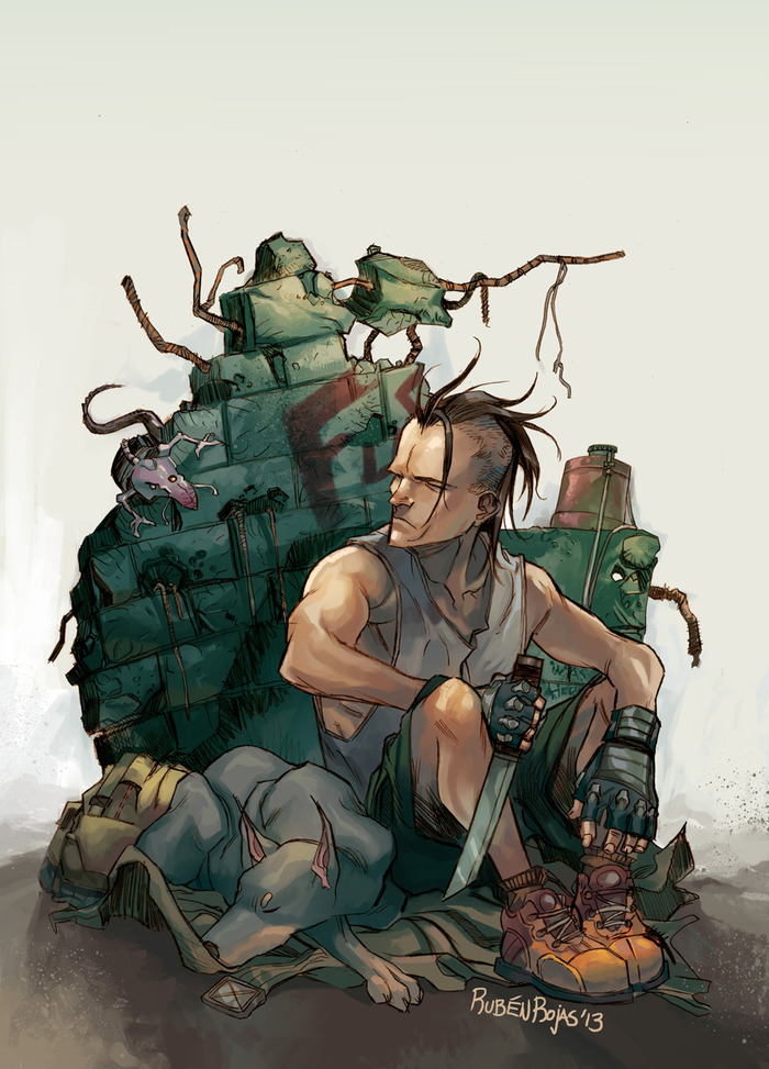 Art by Ruben Rojas, RUIN #1 cover