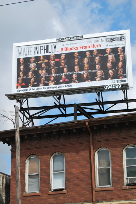 'Made in Philly' campaign features this project (Thanks to Genevieve Coutroubis @ CFEVA for this image)
