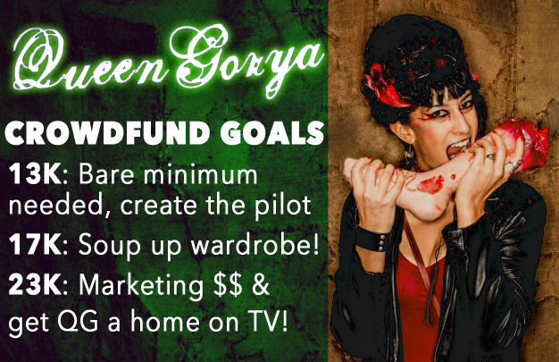 Budget Milestones:  Help us make this show look GOOD!