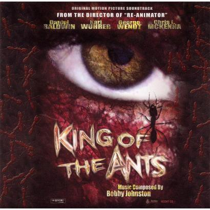 A signed copy of the King of the Ants soundtrack