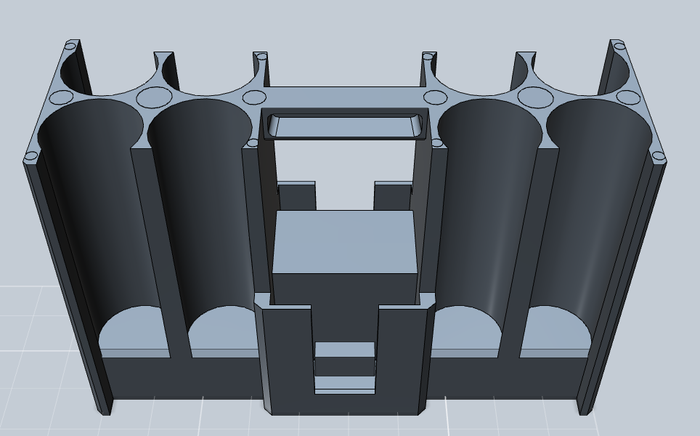 Final injection molding insert design
