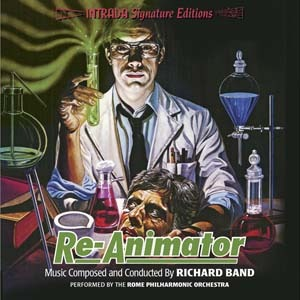 a signed copy of the Re-Animator soundtrack