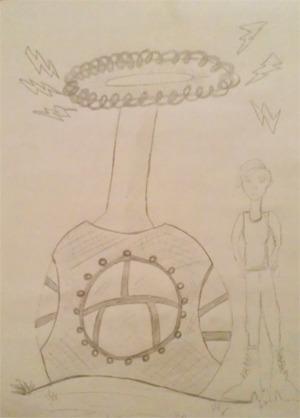 Sophia's concept sketch