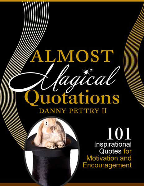 announcing the magical book of inspirational quotes by