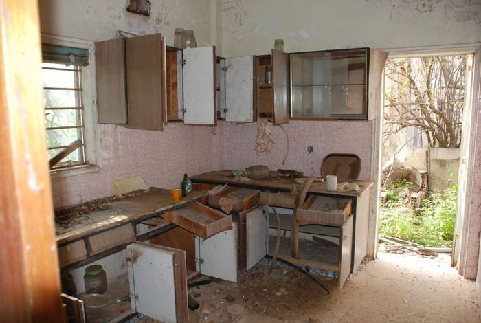 Remnants of a Varosha kitchen