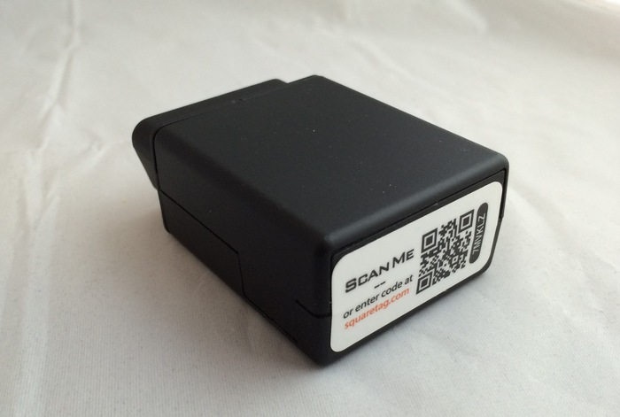 Our OBD II Device (front view)
