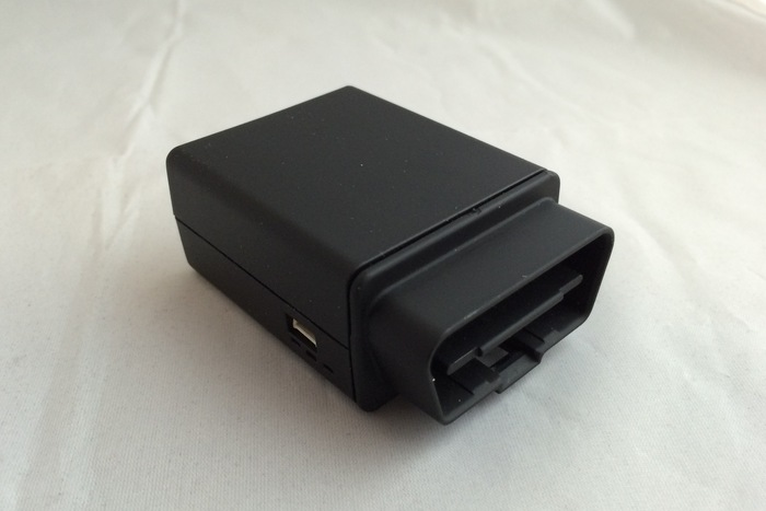Our OBD II Device (port view)