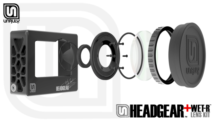 Unruly Headcase Headgear Housings For Gopro By Clark