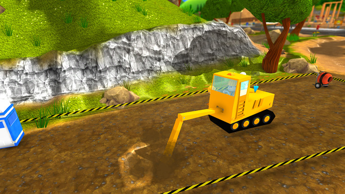 Tiny Diggers 2 - Digging with an Excavator