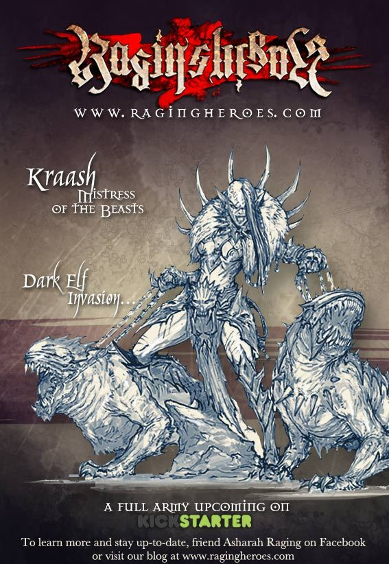 Forthcoming Dark Elf Invasion from Raging Heroes 1f7632183d5d5b4cb3c46db9cc9e2583_large