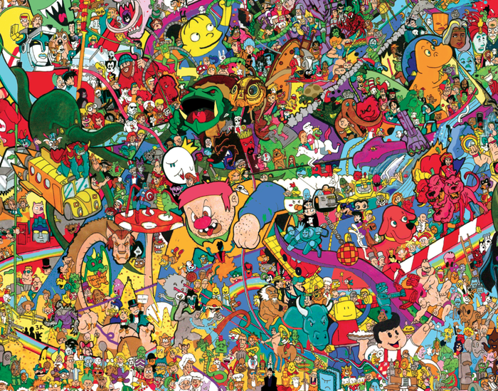I Spy Cartoon Characters : I spy a cartoon universe by ray sumser complete