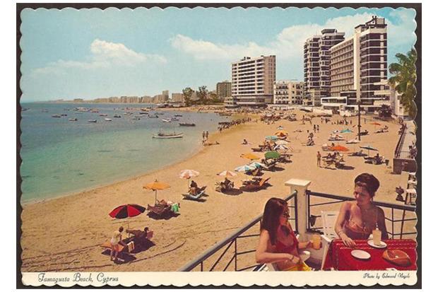 Varosha beach 1960's