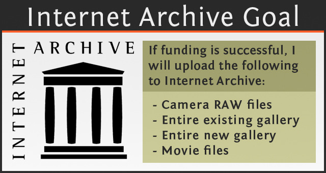 The Internet Archive is very excited to be a partner in this project and help make it more expansive.