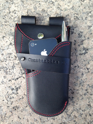 Showing Urban Holster with iPhone and Pen- See video for more info