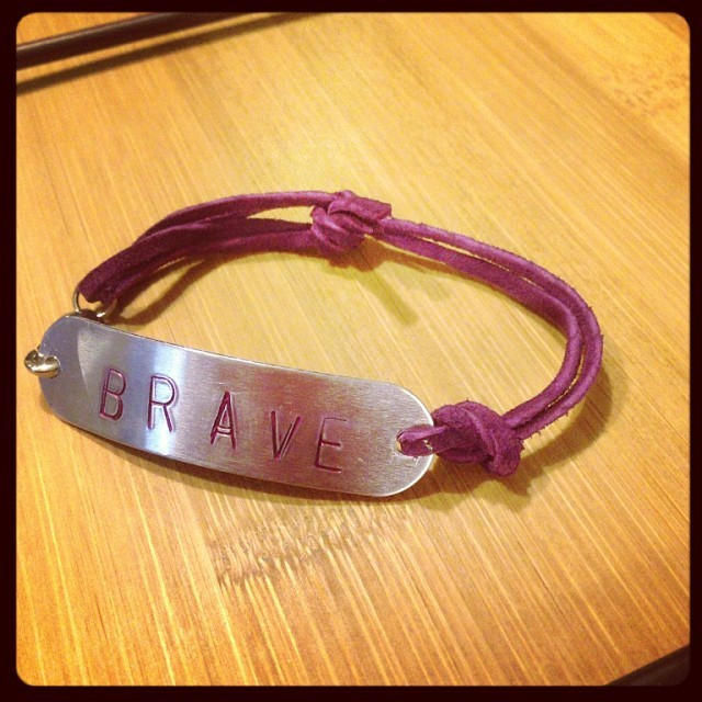 'This Is My Brave' Limited Edition Supporter Bracelet