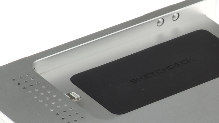 SketchDock Detail - 30 Pin and Lightning Compatible