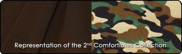 Representation of the 2nd Comfortibles Collection