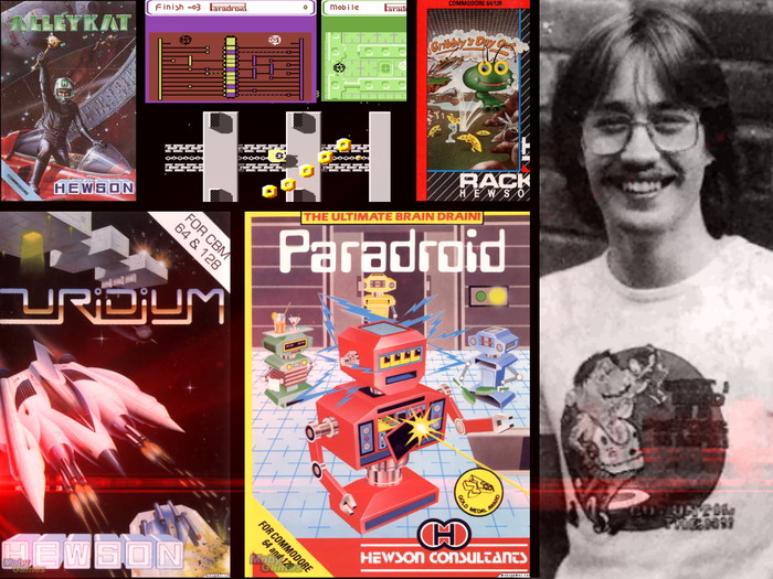 Andrew Braybrook created some of the most innovative games of the 8-bit era
